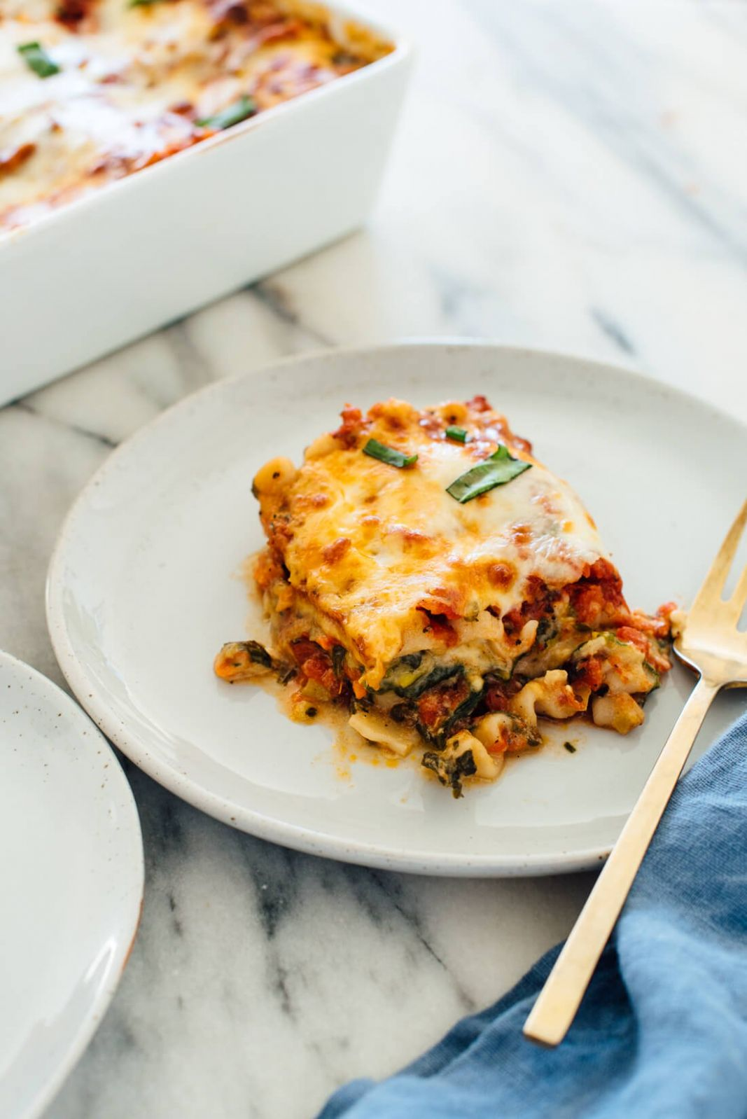 Best Vegetable Lasagna - Simple Recipes Vegetarian Lasagna