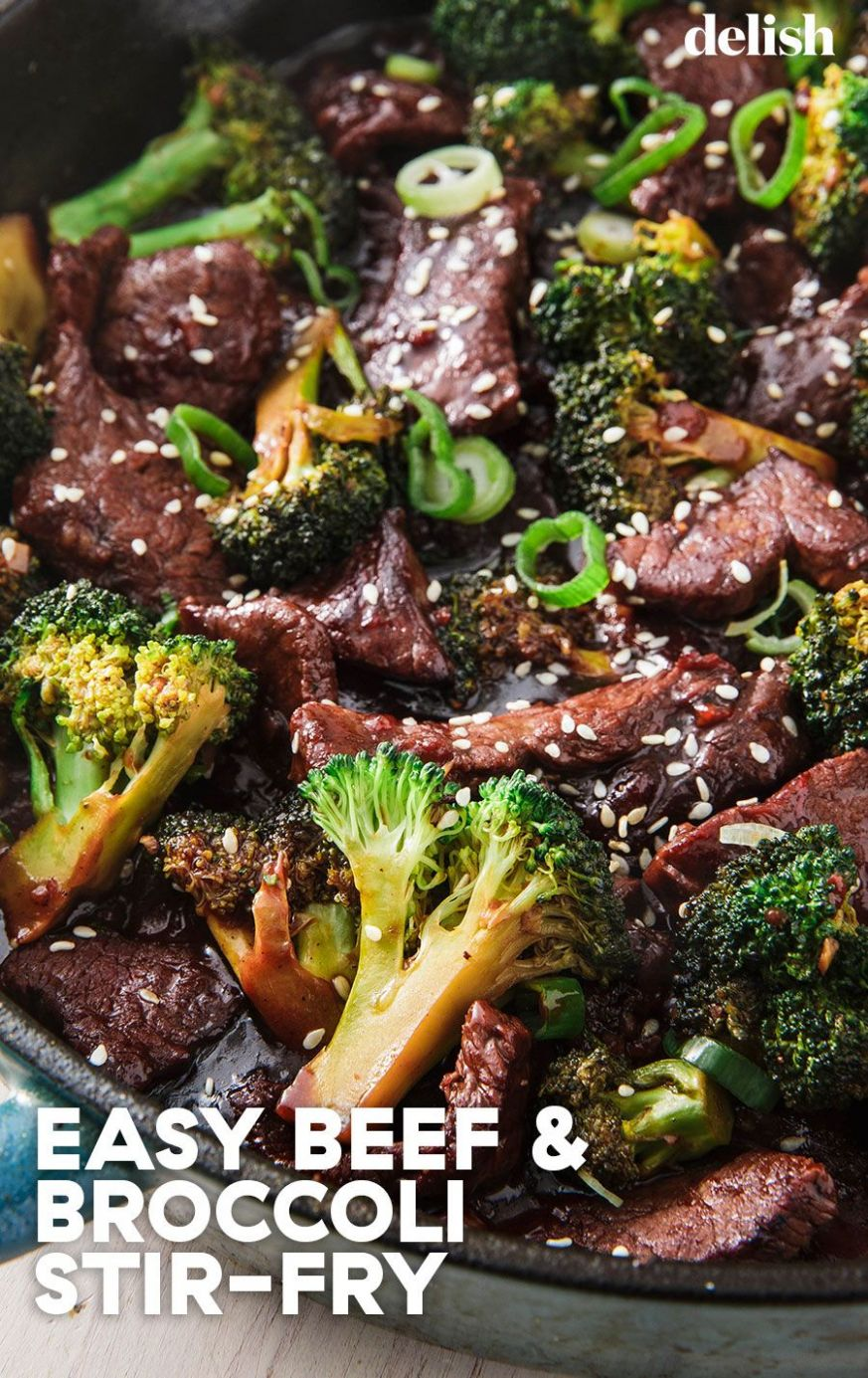 Better-Than-Takeout Beef and Broccoli - Beef Recipes Delish