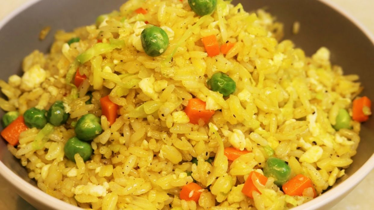 BETTER THAN TAKEOUT - Easy Egg Fried Rice Recipe - Recipes Egg And Rice