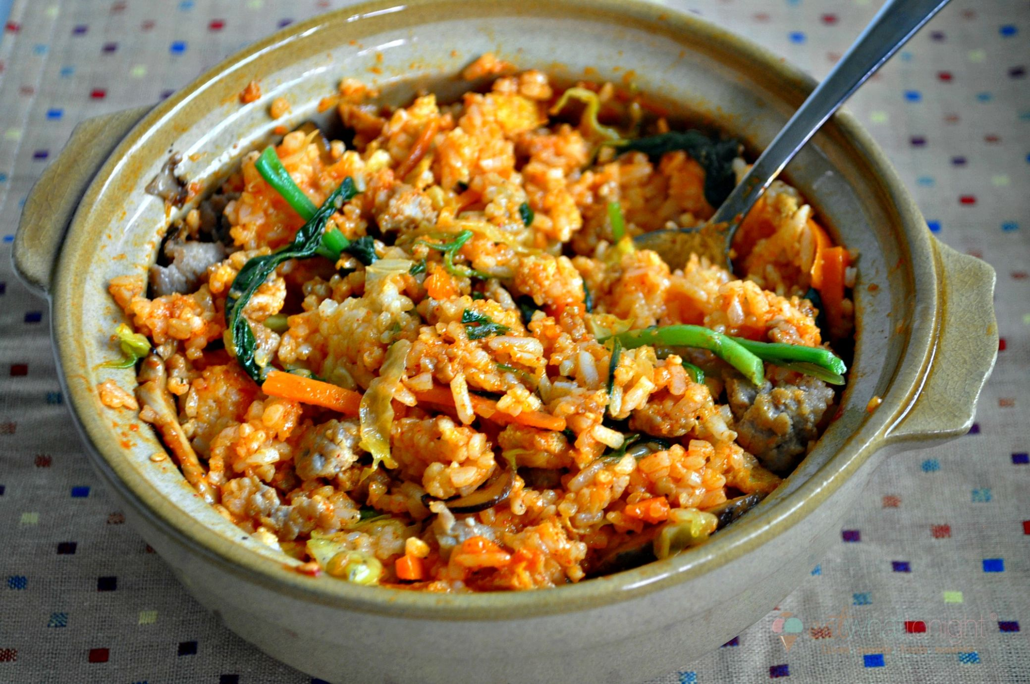 Bibimbap (Korean Mixed Rice with Meat and Assorted Vegetables) - Rice Recipes Korean