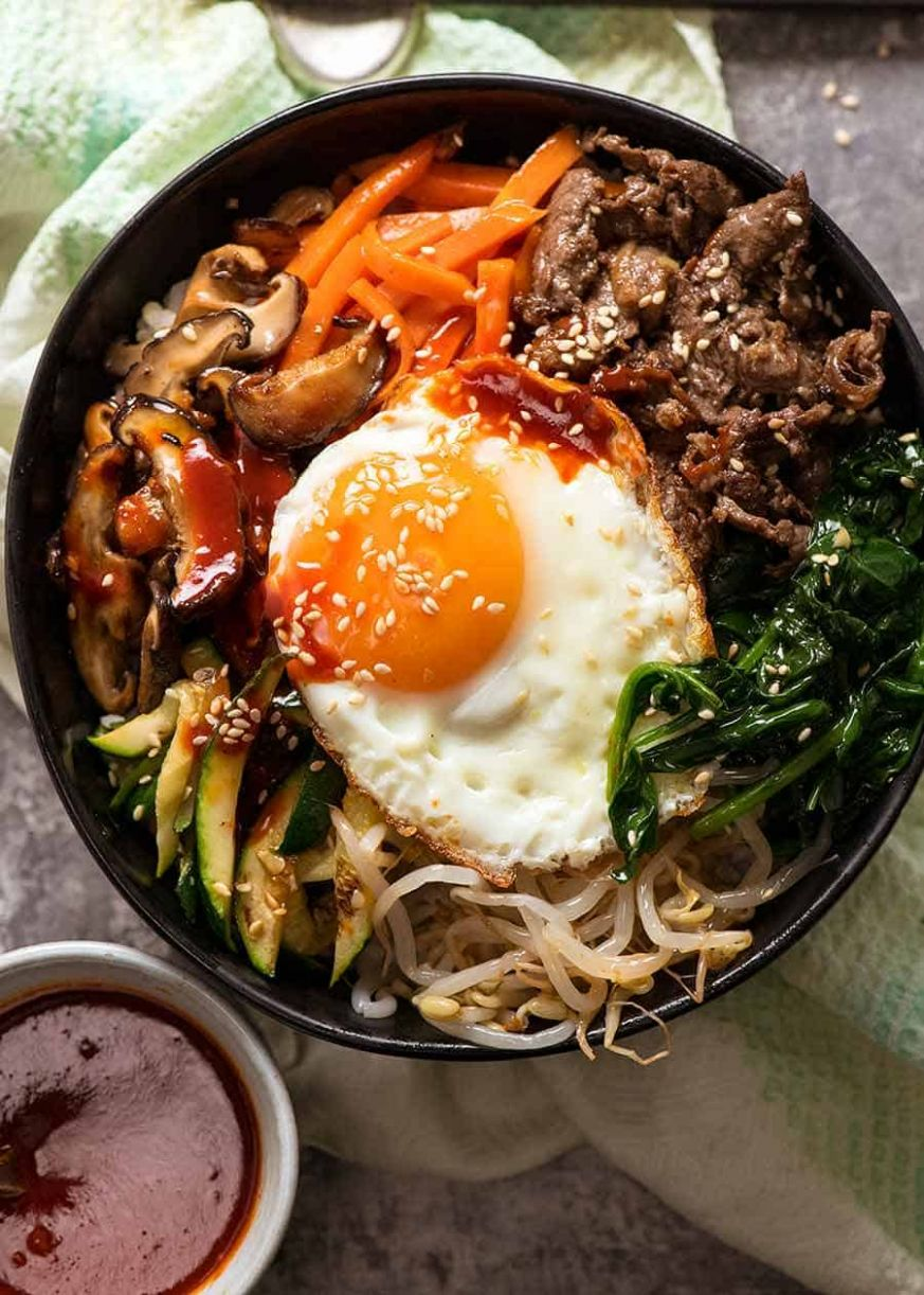 Bibimbap - Rice Recipes Korean