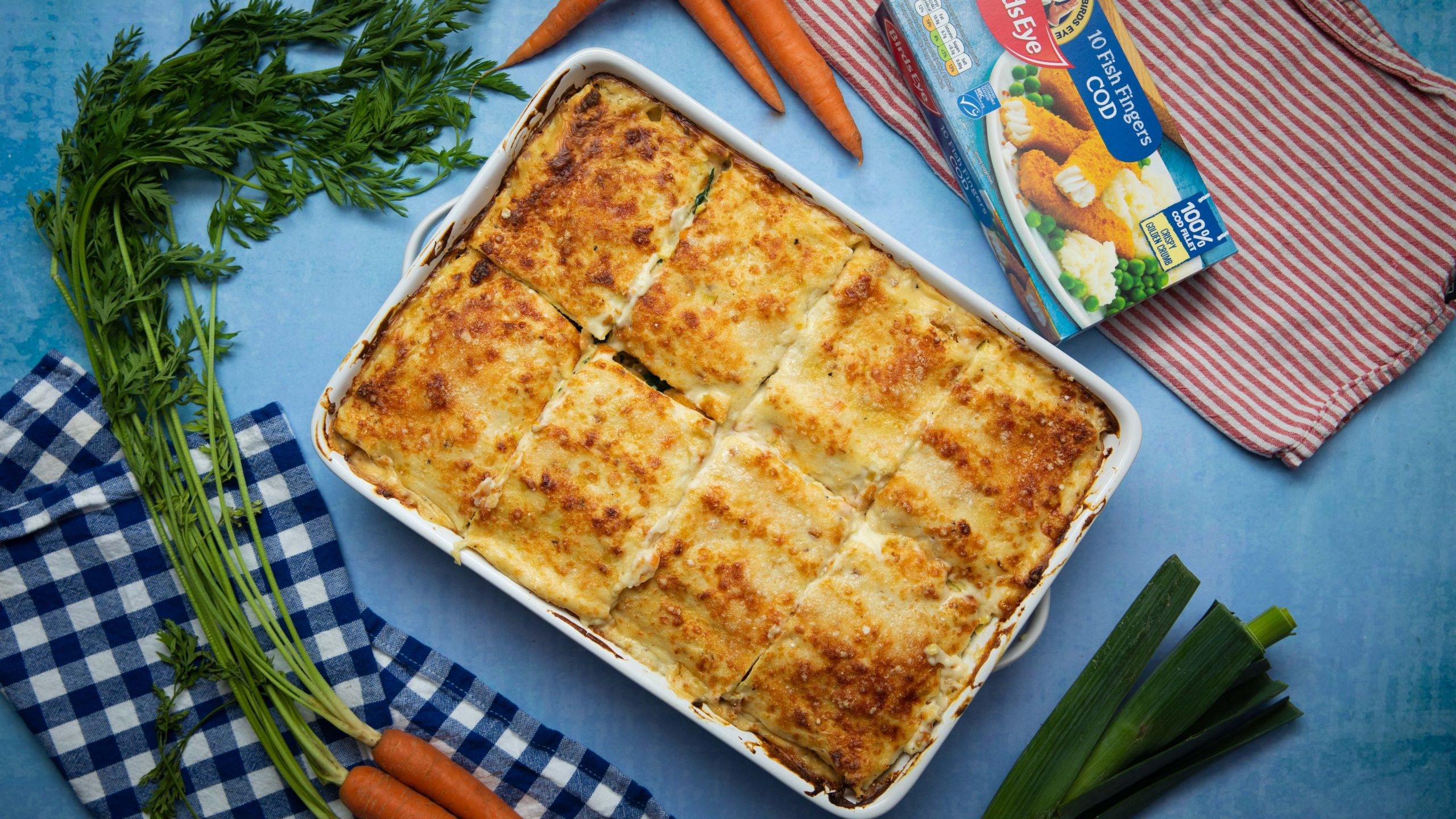 Birds Eye Fish Finger Lasagne - Twisted