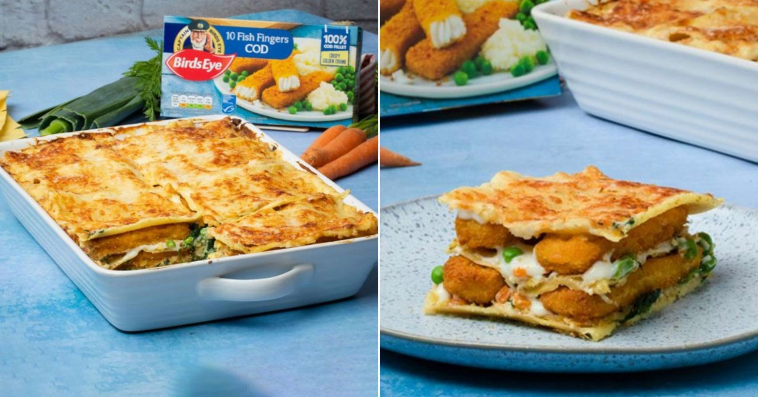 Birds Eye's fish finger lasagne gets a big nope from British folks ...