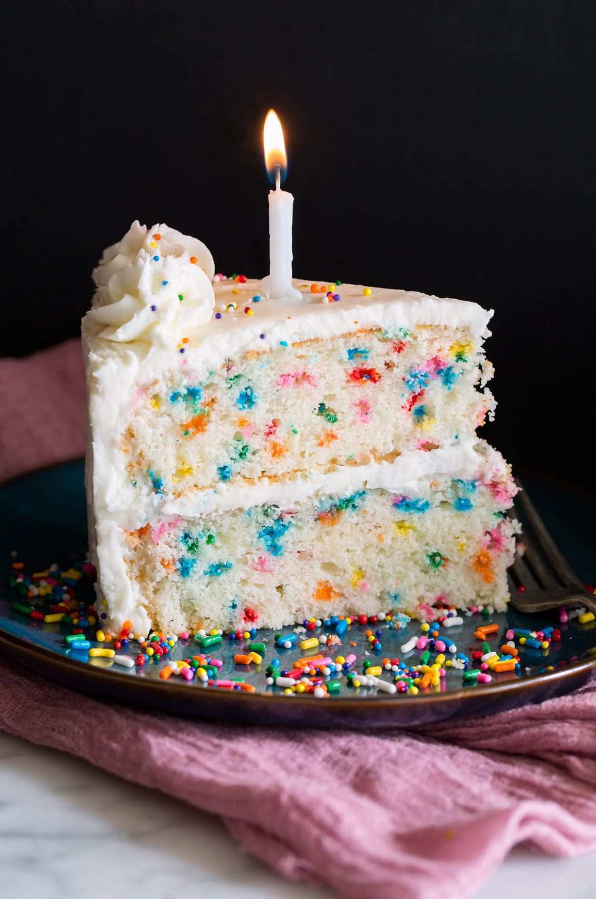 Birthday Cake Funfetti Cake - Cake Recipes Amazing
