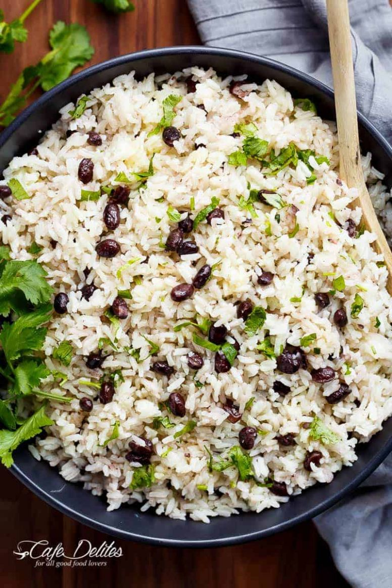 Black Beans & Rice Recipe - Cafe Delites - Recipes Rice And Beans