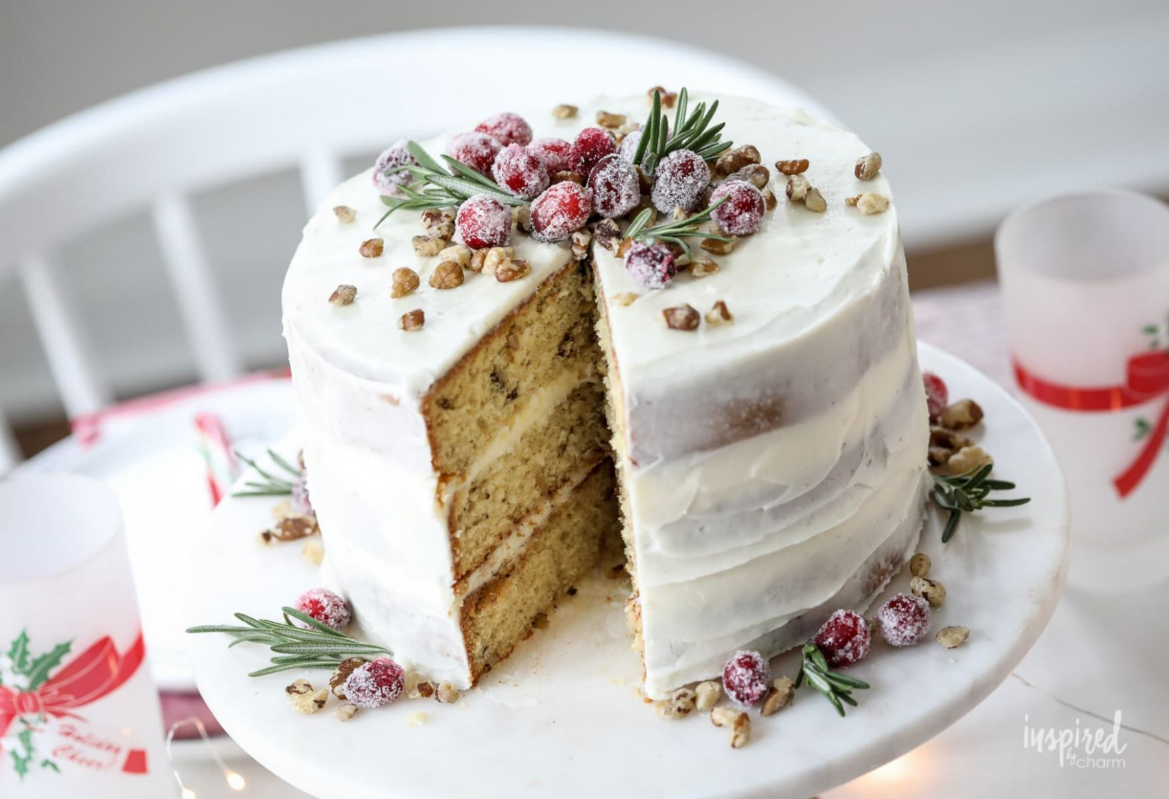 Black Walnut Christmas Cake - Recipes Using Xmas Cake