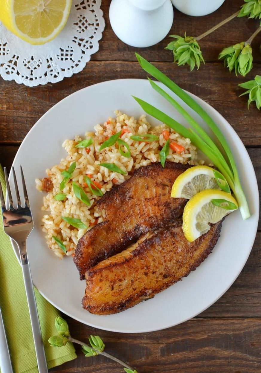 Blackened Cajun Fish - Dinner Recipes Fish