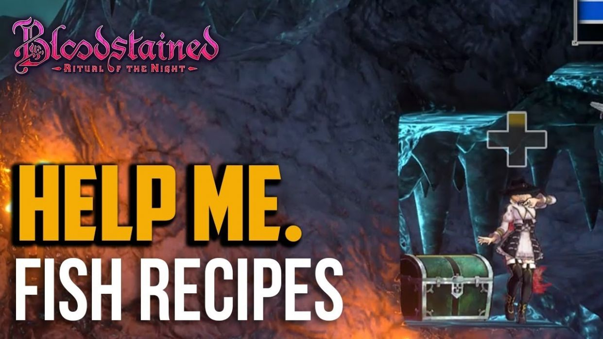 Bloodstained Ritual of the Night : Where to Find Fish Recipe Book for  Shimmer Foneus - Food Recipes Bloodstained