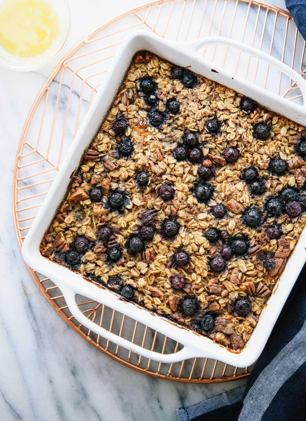 Blueberry Baked Oatmeal - Healthy Recipes With Blueberries