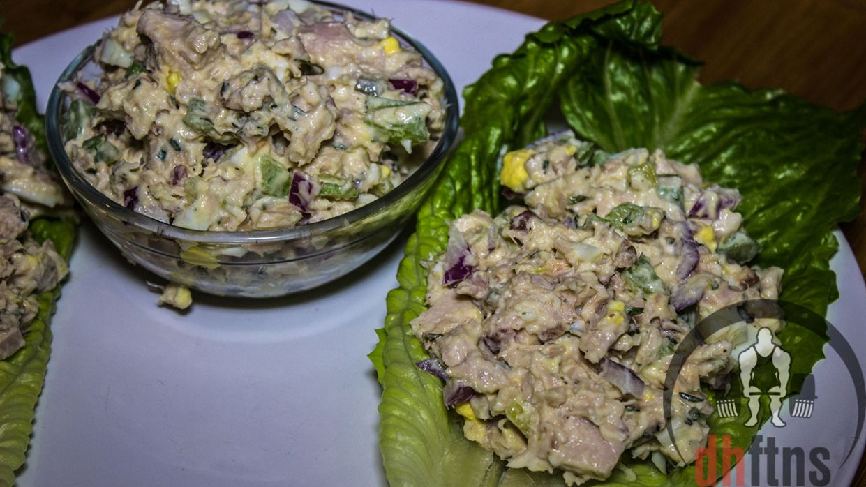 Bodybuilding TUNA Salad Recipe (Healthy) | KeepRecipes: Your ..