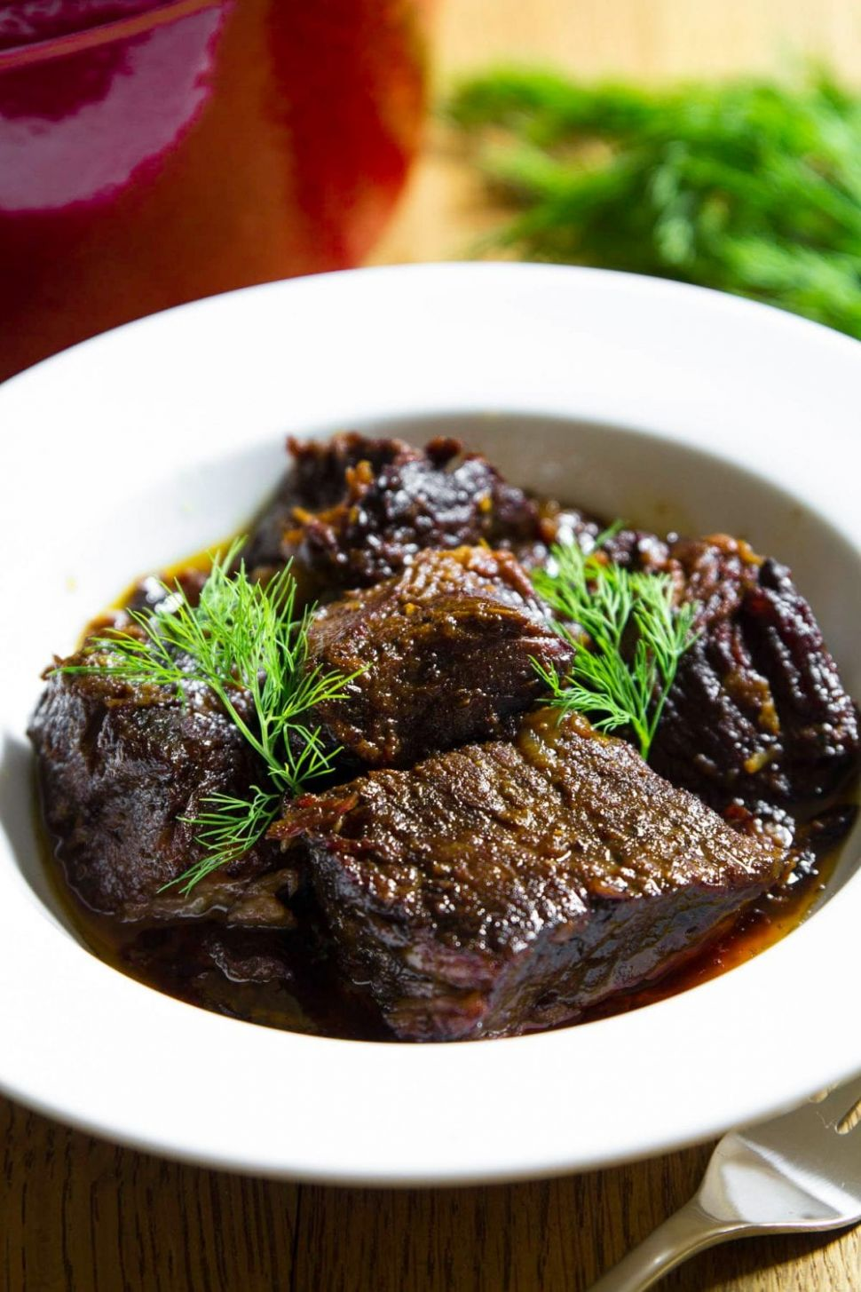 Braised Beef - Simply Home Cooked - Beef Recipes Near Me