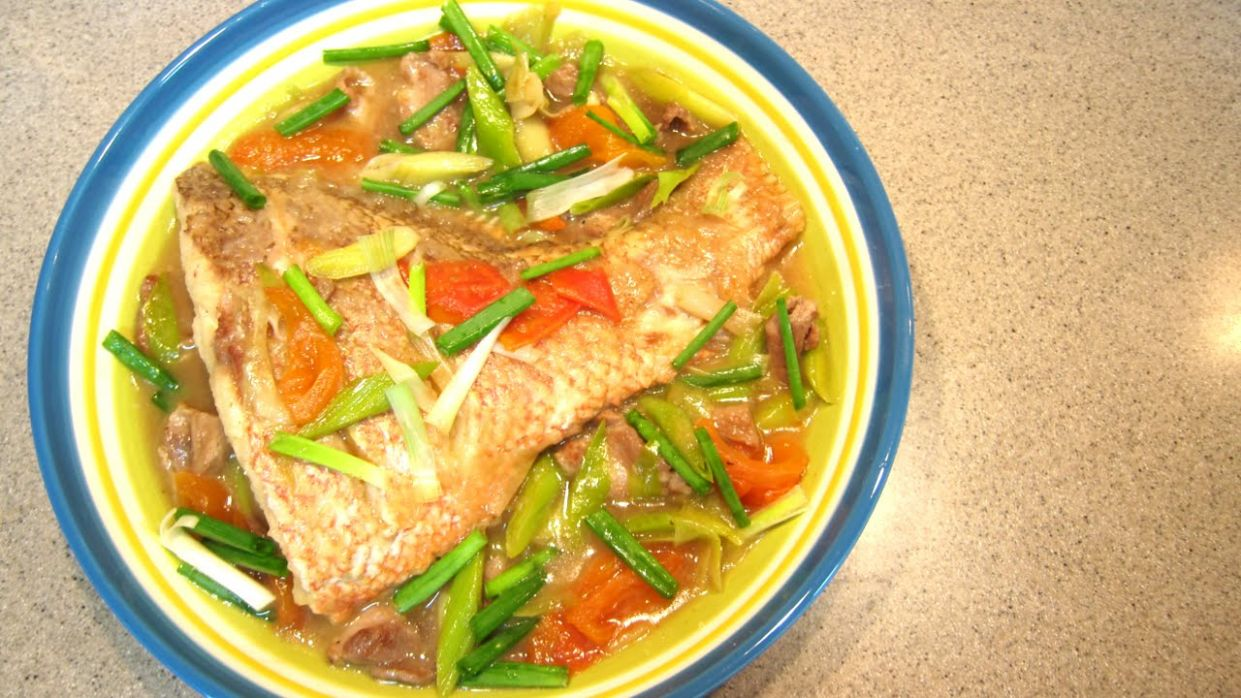 Braised Fish With Leeks - Recipe Fish Leeks