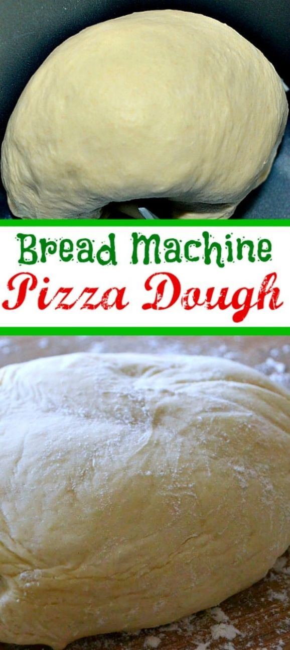 Bread Machine Pizza Dough Recipe - Mom On Timeout - Recipes Pizza Dough Bread Machine