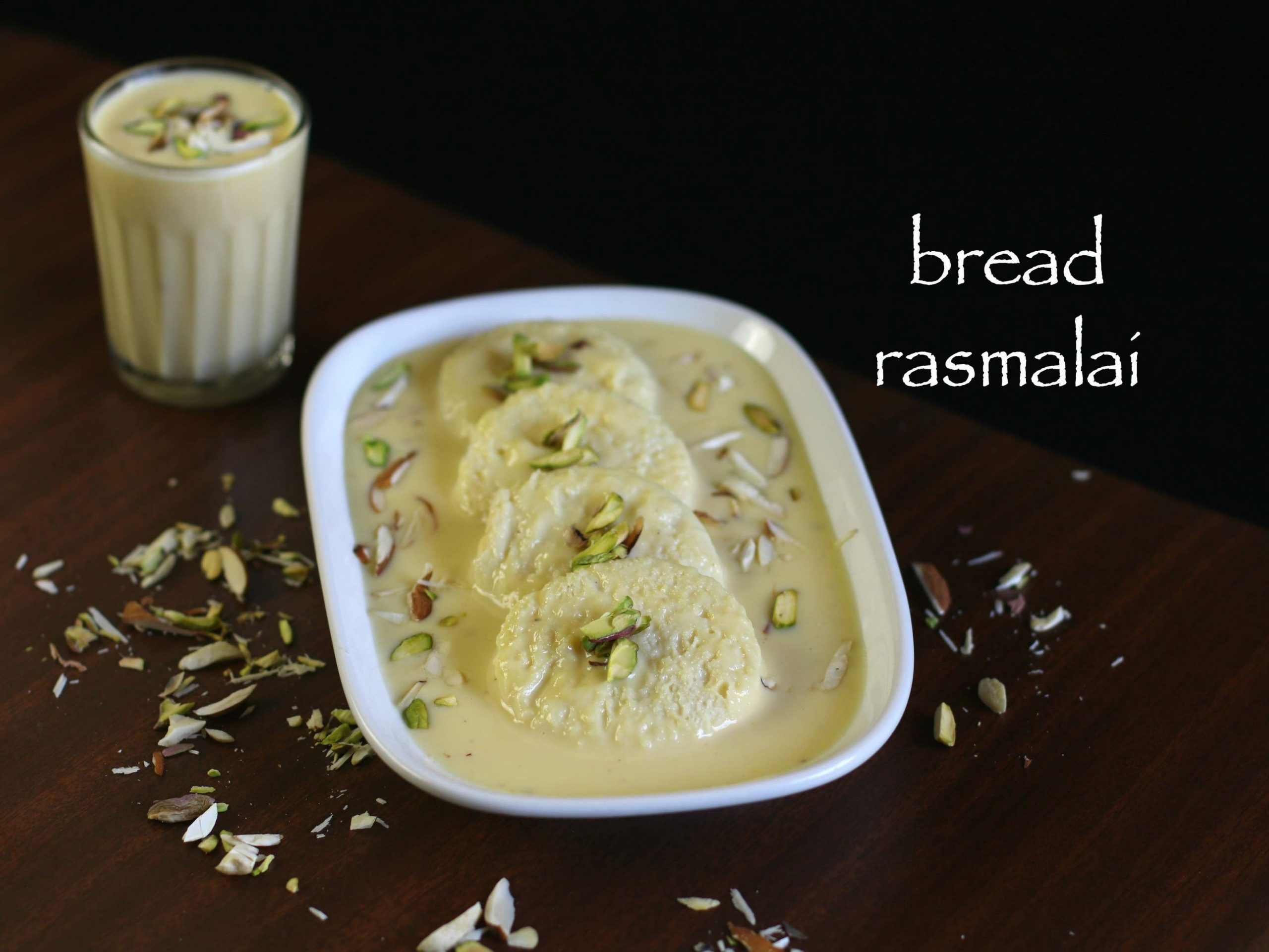 bread rasmalai recipe | bread ki rasmalai with milkmaid | instant rasmalai - Recipes Rasmalai Urdu