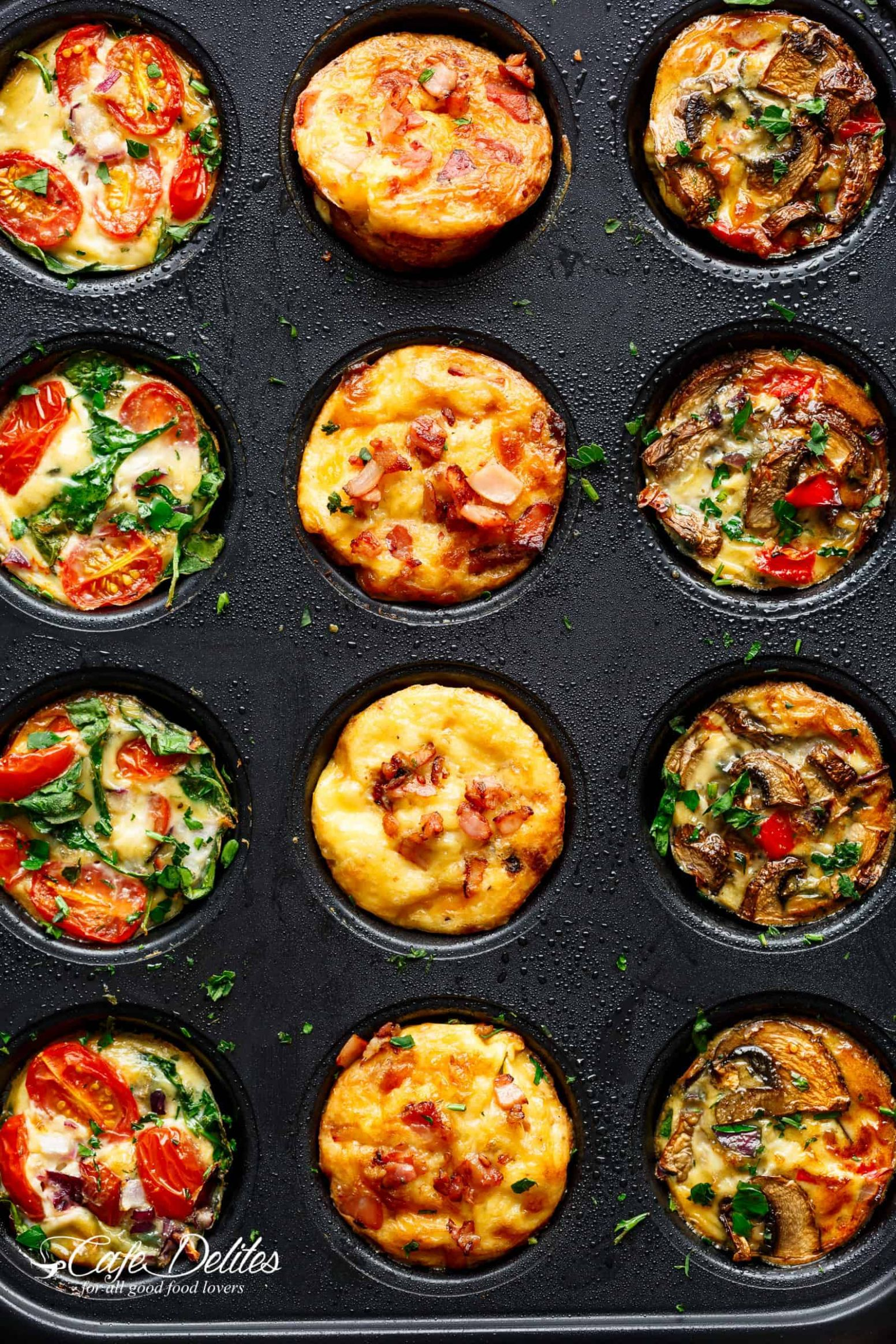 Breakfast Egg Muffins 12 Ways - Recipe Egg In A Cup