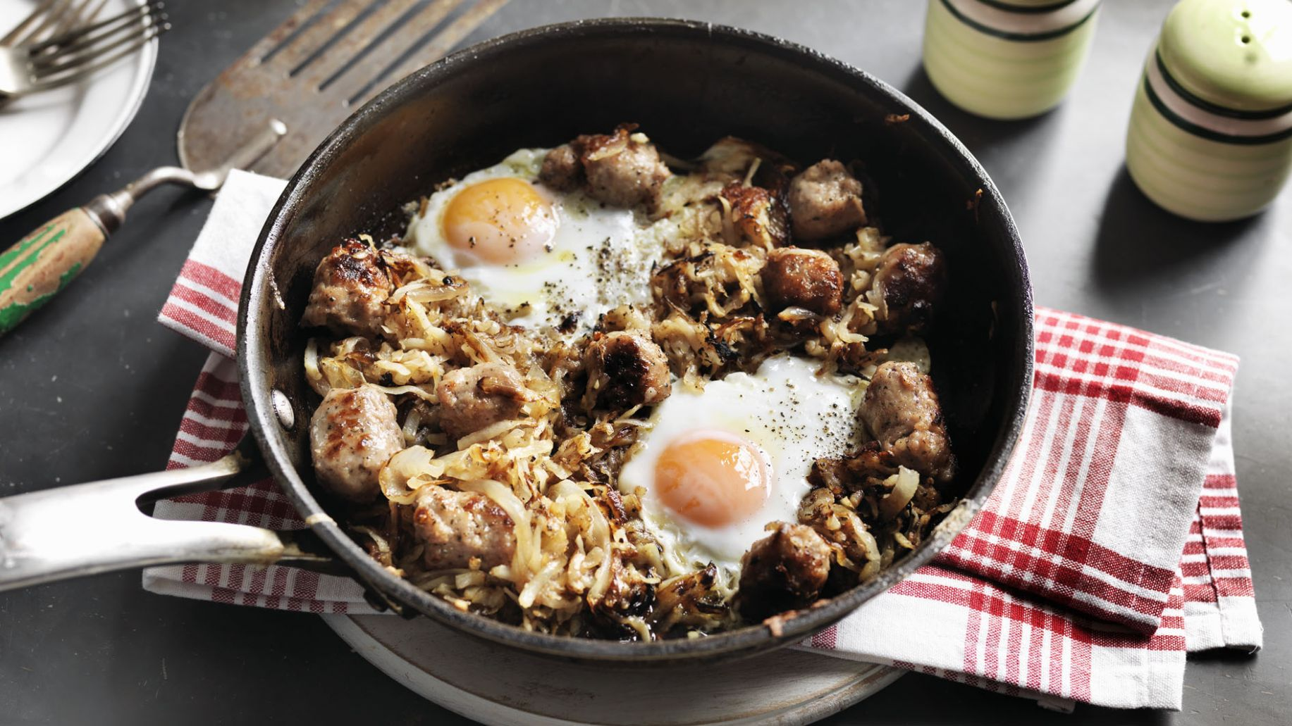Breakfast hash - Breakfast Recipes Bbc