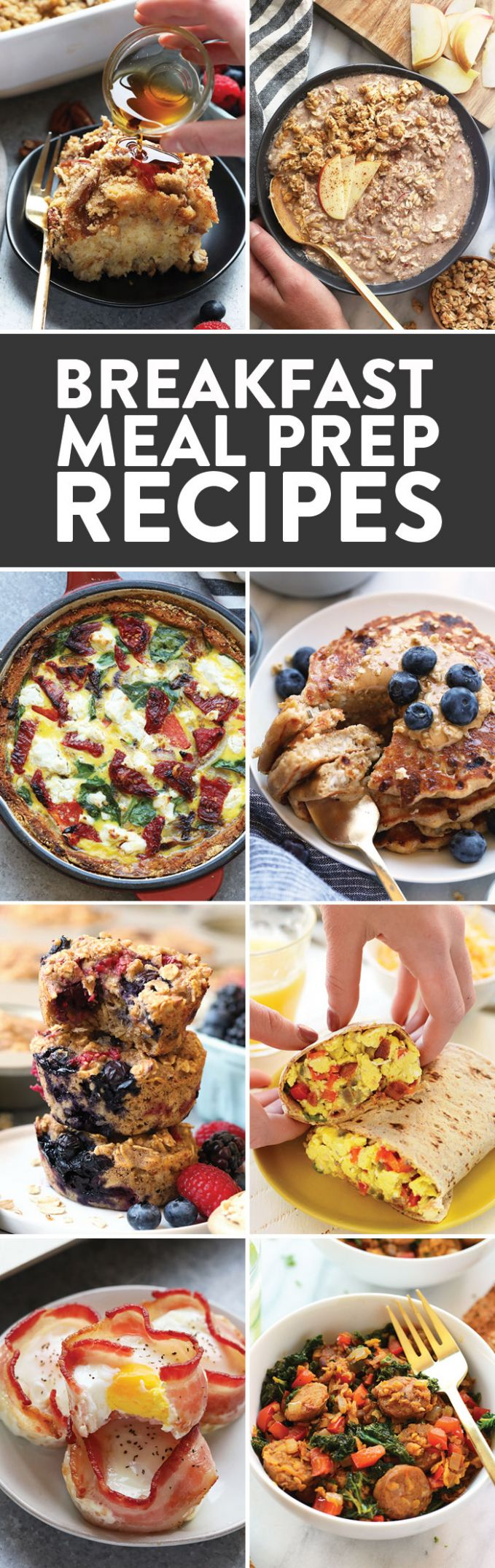 Breakfast Meal Prep Recipes - Fit Foodie Finds