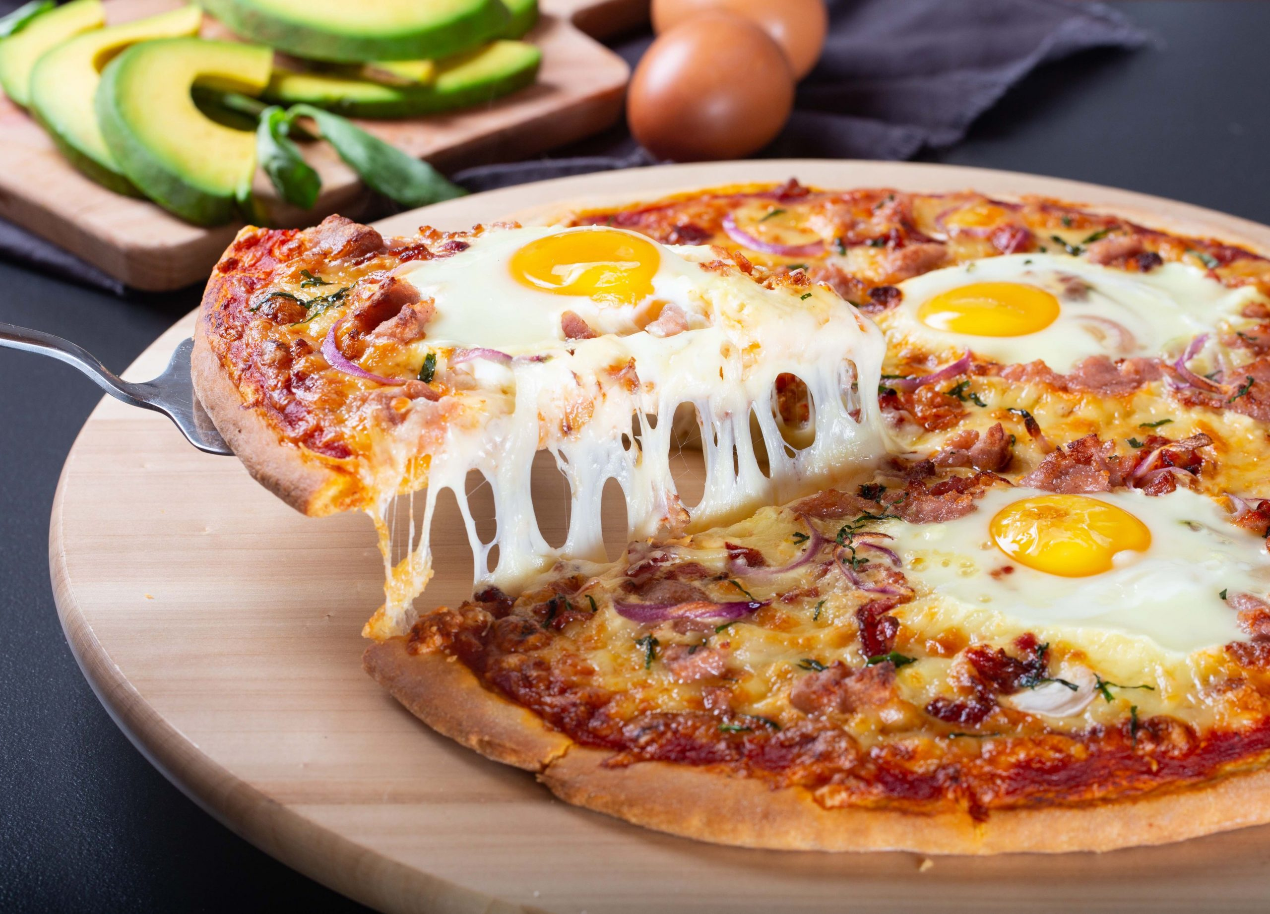 Breakfast Pizza - Pika Chakula