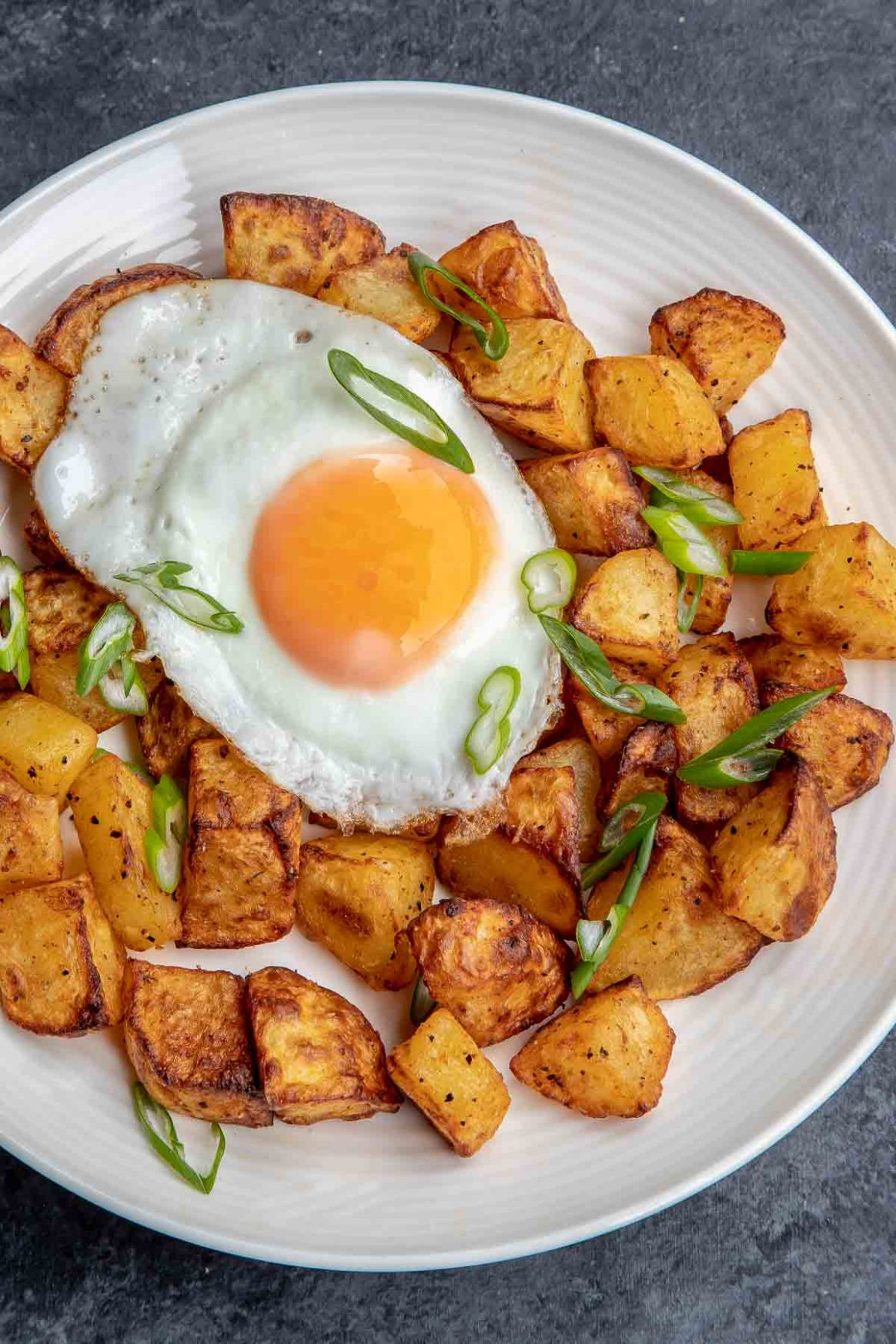 Breakfast Potatoes in the Air Fryer - Potato Recipes Air Fryer