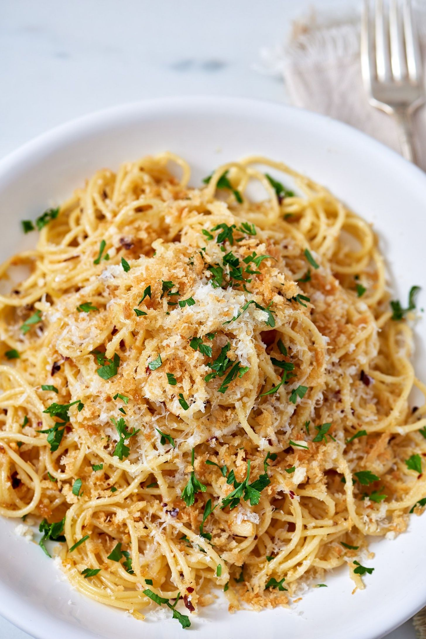 Brown Butter Parmesan Pasta