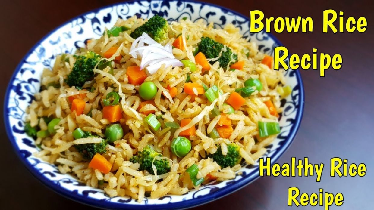 Brown Rice Recipe For Weight Loss | Healthy Fried Rice | Brown ..