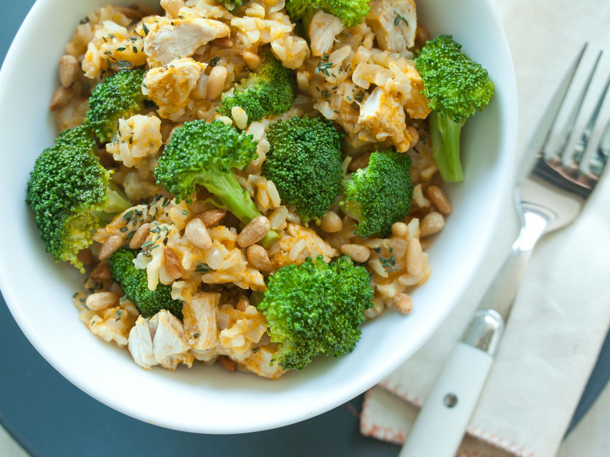 Brown Rice with Chicken and Broccoli - Recipes Chicken Rice Broccoli