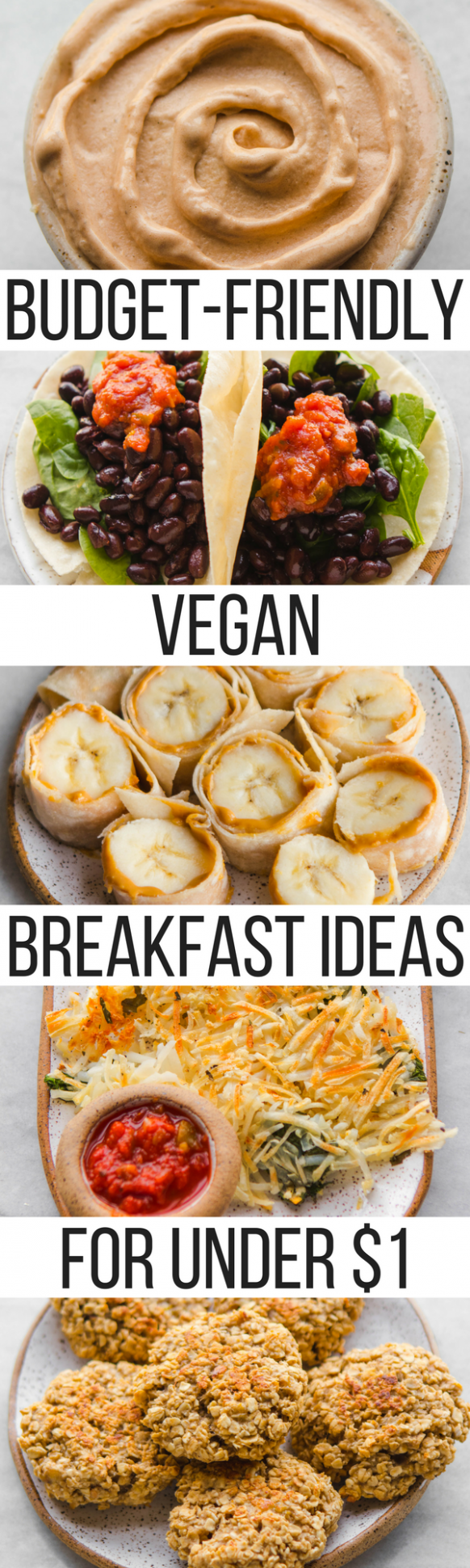 Budget Friendly Vegan Breakfast Ideas for Under $10 - From My Bowl - Breakfast Recipes Cheap