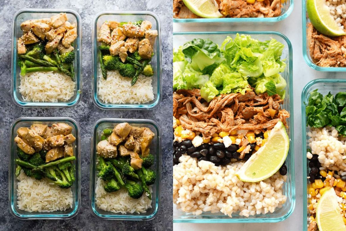 Build Your Own Meal Prep Bowl + More Meal Prep Ideas! - Simple Recipes Meal Prep
