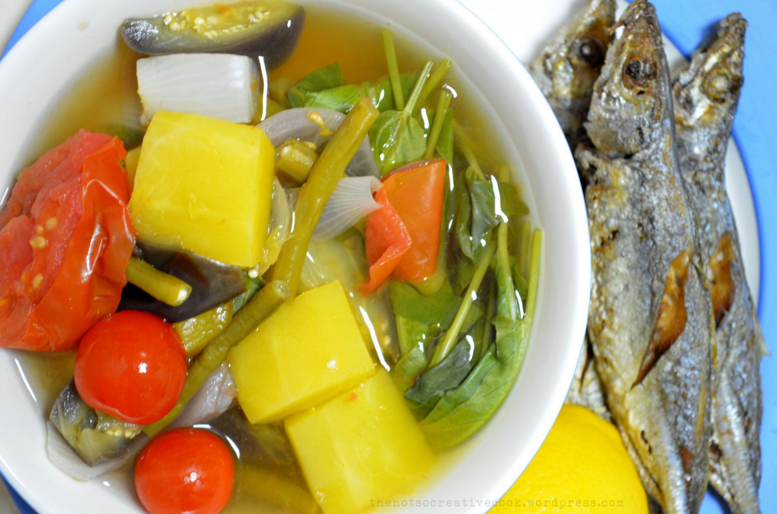 BULANGLANG: A Filipino Vegetable Dish - The Not So Creative Cook - Vegetable Recipes Easy Pinoy