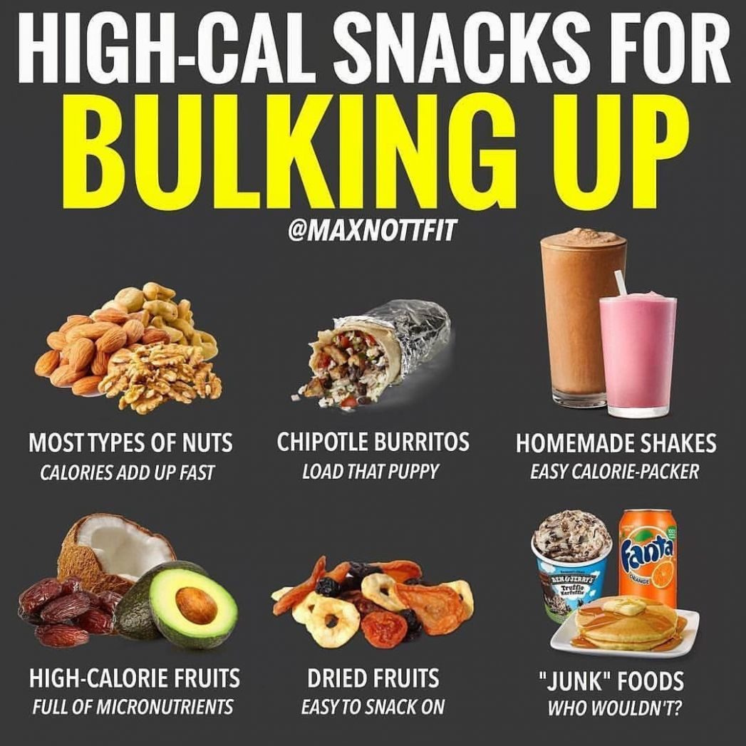 Bulking Snacks by @maxnottfit • For skinnier guys who are looking ..