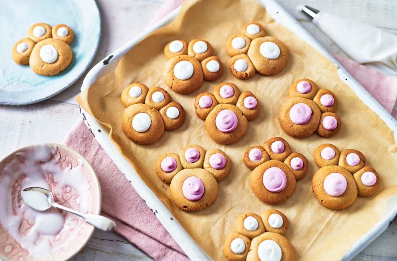 Bunny paw biscuits - Dessert Recipes For Easter