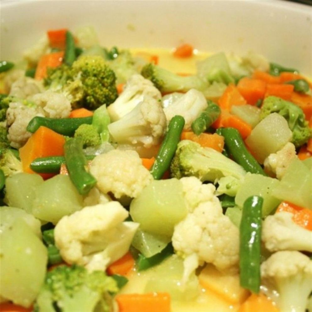 Buttered Vegetables - Vegetable Recipes Panlasang Pinoy