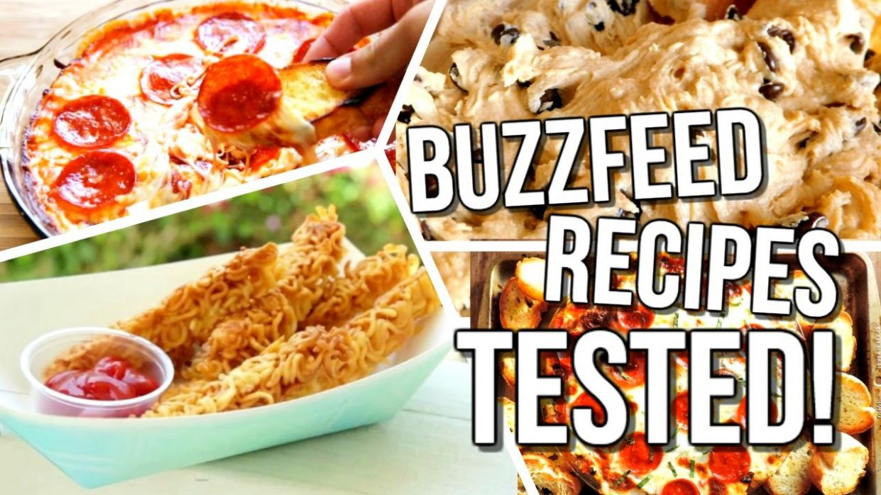 Buzzfeed Food Recipes TESTED! | Courtney Lundquist - Food Recipes Video