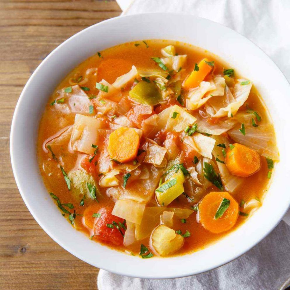 Cabbage Weight Loss Soup (Cozy, Comforting and Nutritious) - Recipe Weight Loss Vegetable Soup