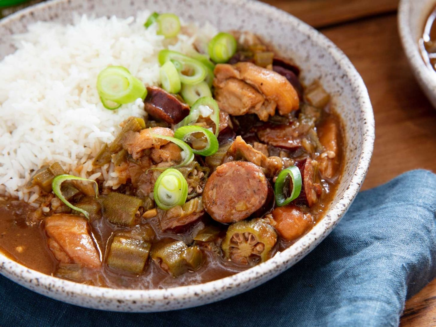 Cajun Gumbo With Chicken and Andouille Sausage Recipe - Recipes Chicken Gumbo