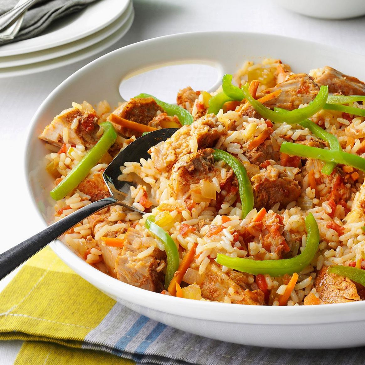 Cajun Pork and Rice - Recipes Pork And Rice