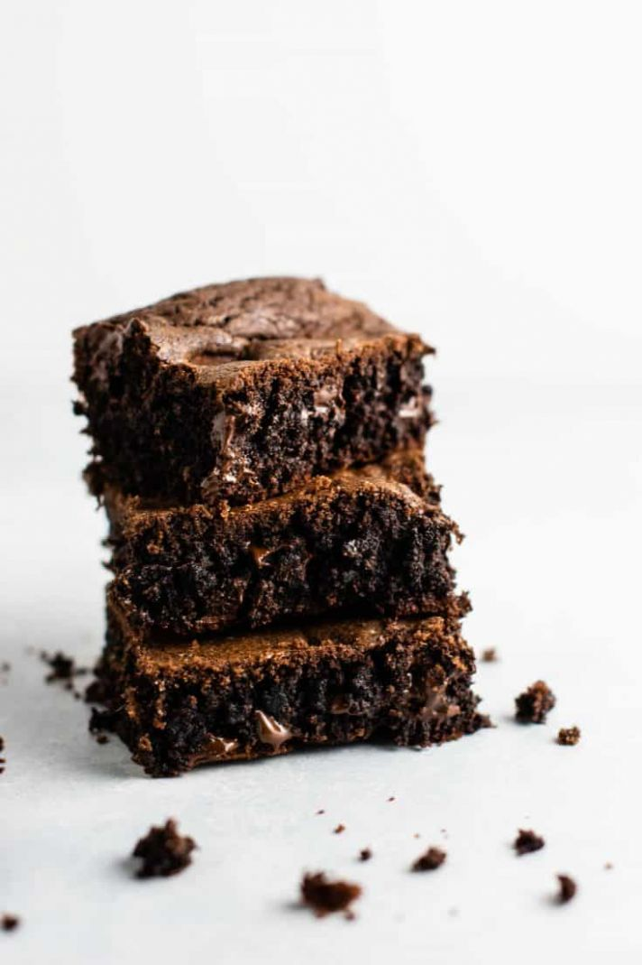 Cake Mix Brownies - Dessert Recipes Using Chocolate Cake Mix
