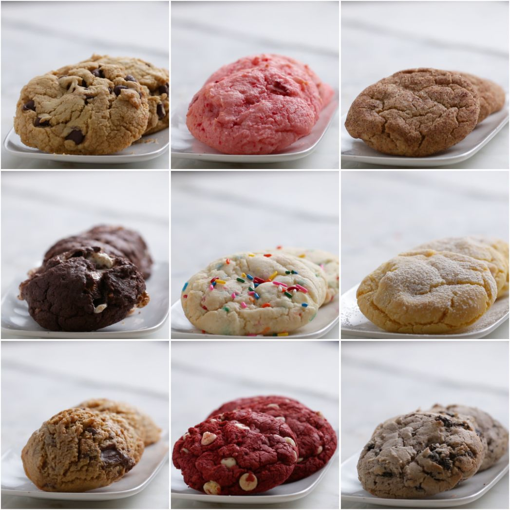 Cake Mix Cookies 8 Ways | Recipes - Recipes Cake From Mix