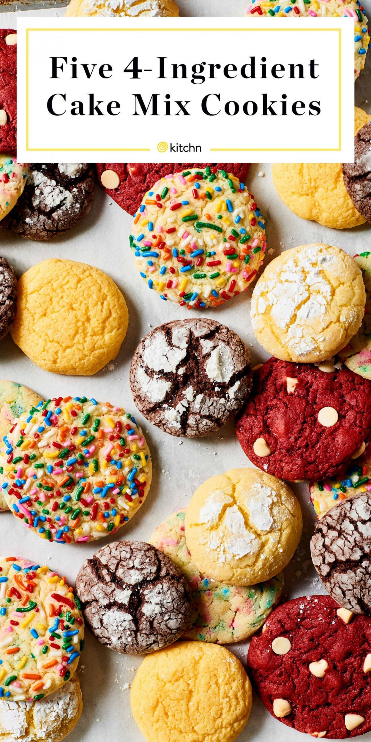 Cake Mix Cookies - Recipes Cake From Mix