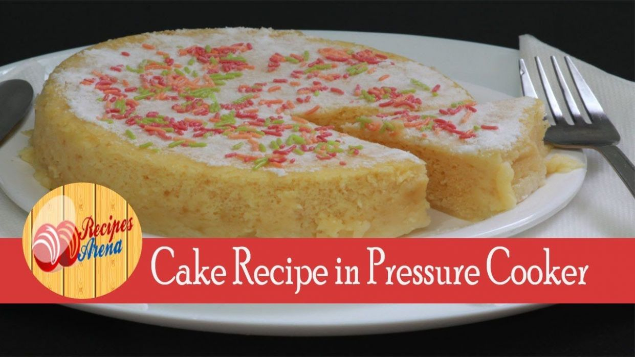 Cake Recipe in Hindi without egg and oven in pressure cooker basic ...