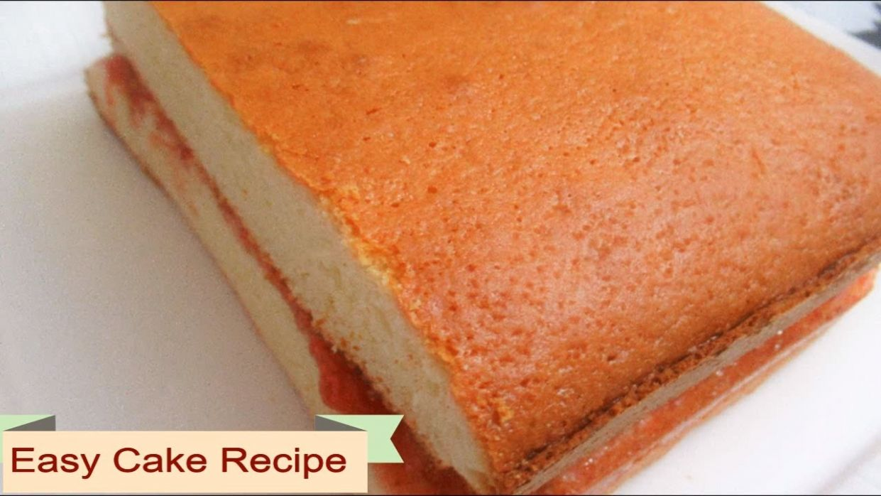 Cake Recipe , Strawberry Jam Cake ,Pound Cake Recipe Afghan Cake Murabba  Dar کیک مربادار افغانی