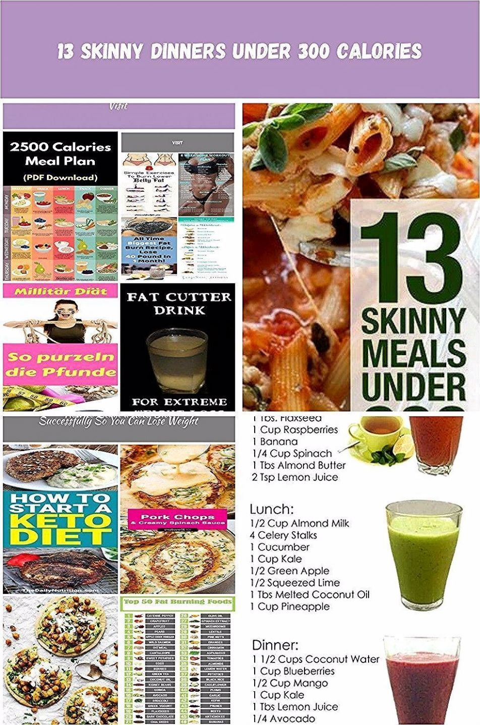 calorie #Diet #download #file #Include #loss #meal #PDF #plan ..