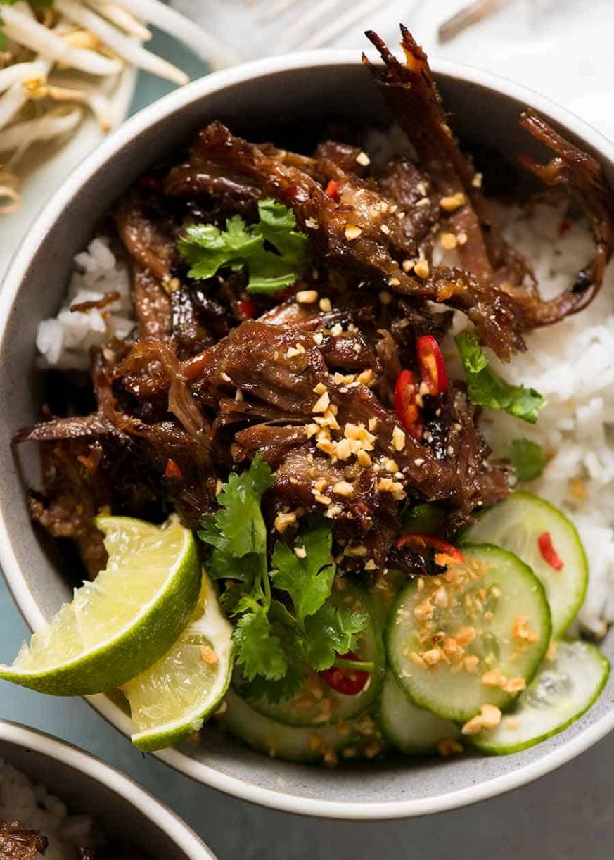 Caramelised Vietnamese Shredded Beef - Beef Recipes Vietnamese