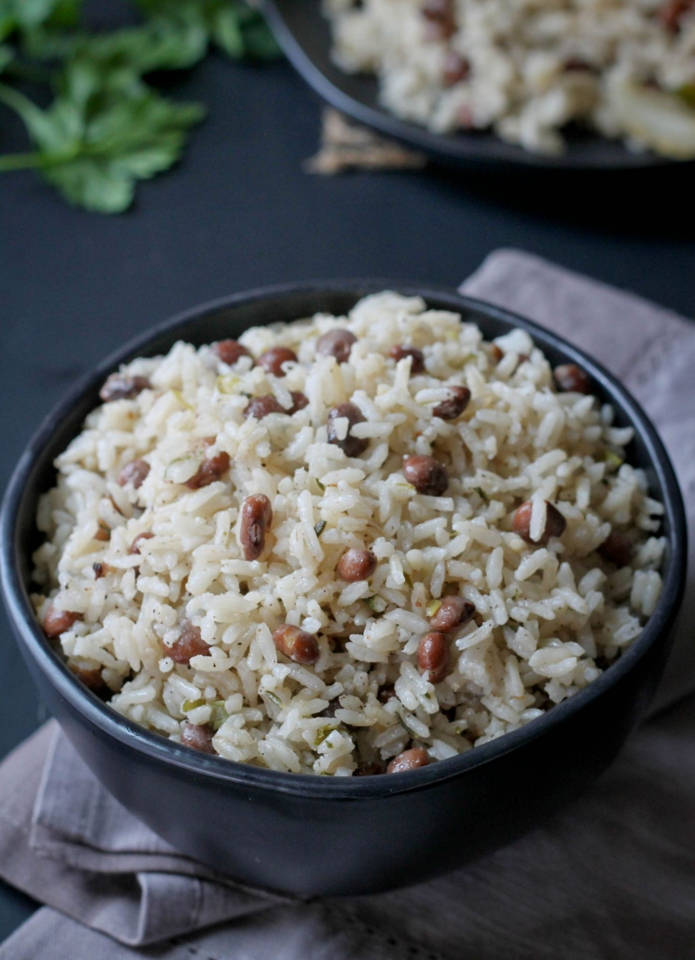 CARIBBEAN PIGEON PEAS AND RICE