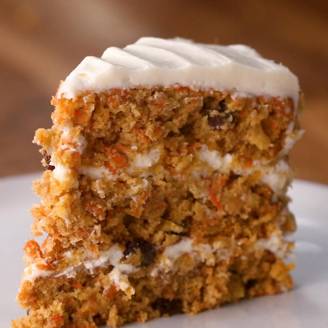 Carrot Cake Recipe by Tasty