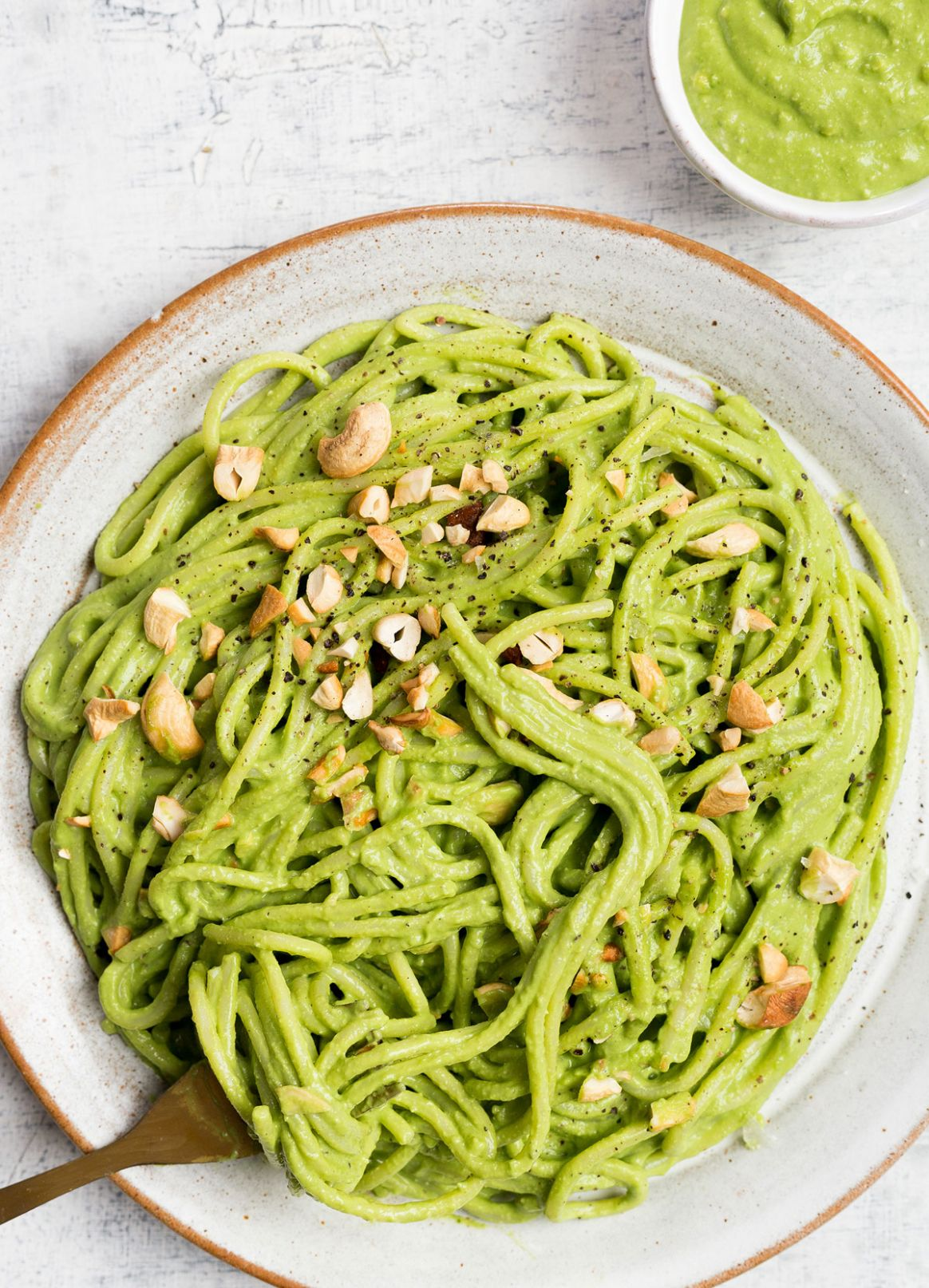 Cashew Pesto Pasta - Recipes Pasta Pesto