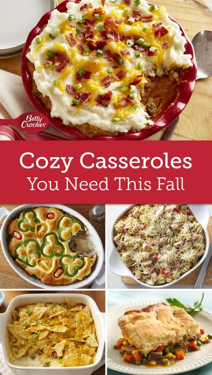 Casseroles We Just Can't Stop Eating | Food, Casserole recipes ...