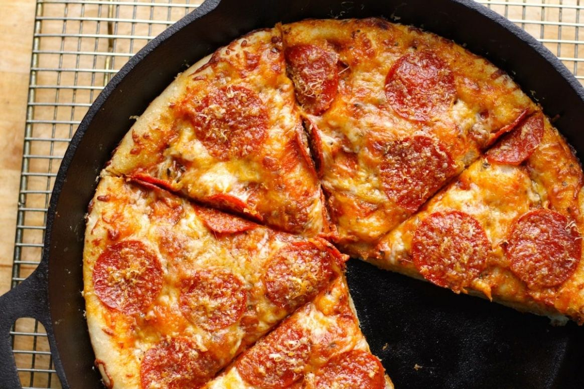 Cast-Iron Skillet Pizza Recipe | The Hungry Hutch - Pizza Recipes Cast Iron Skillet
