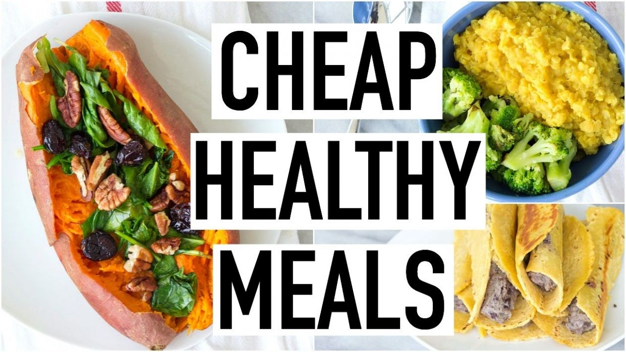 CHEAP HEALTHY MEALS UNDER $12! Healthy & Affordable Recipes! Cooking With  Liv Ep.12