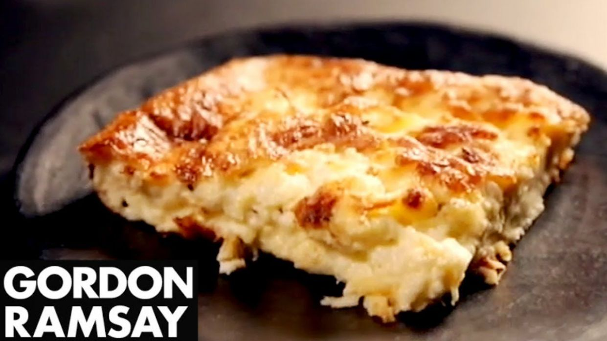Cheat's Soufflé With Three Cheeses - Gordon Ramsay/12 g butter ...